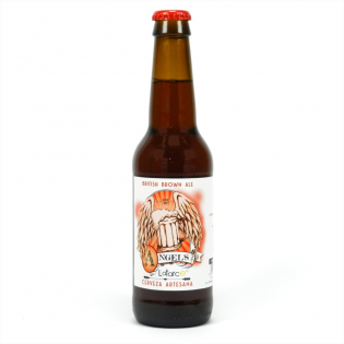 British Brown Ale Angel´s by Latarce 33cl